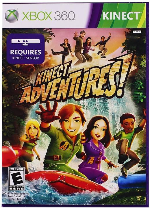 Kinect Adventures (Xbox 360) - elektronicky