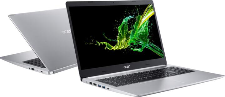 Acer Aspire 5 (A515-55-50D5), stříbrná