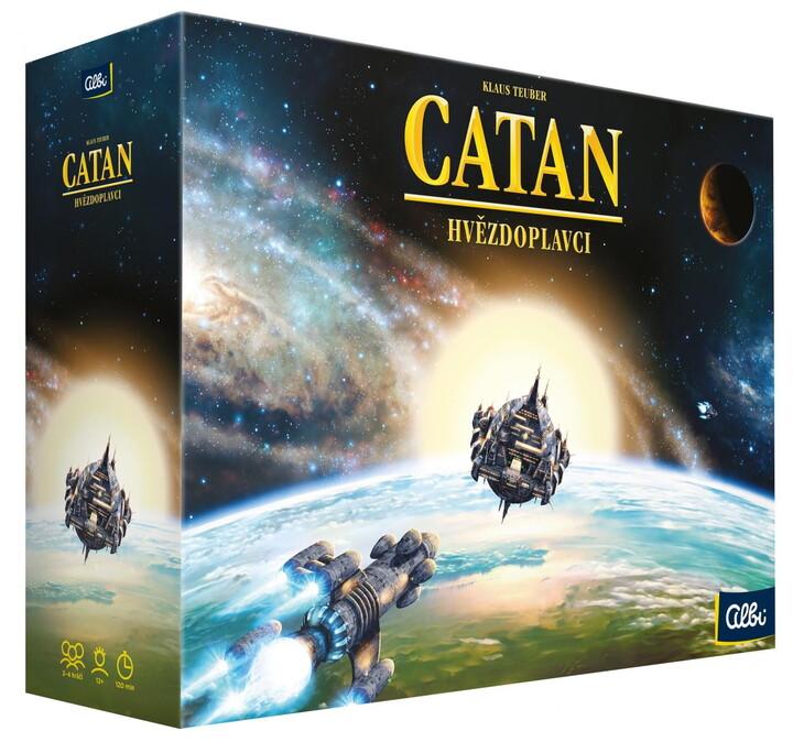 Desková hra Albi Catan: Osadníci z Katanu - Hvězdoslavci