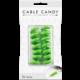 Cable Candy kabelový organizér Snake, 2 ks, zelená