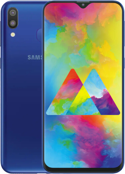 Samsung Galaxy M20, 4GB/64GB, modrá