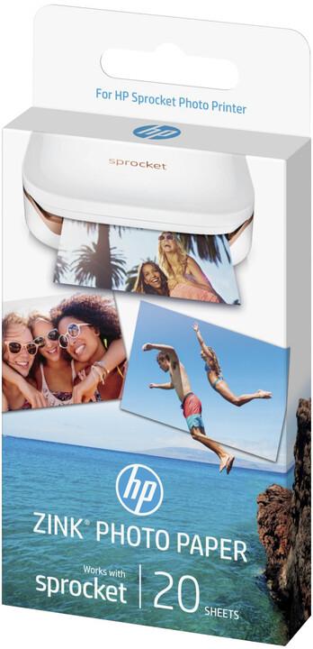HP ZINK Sprocket Sticky-Backed Photo Paper
