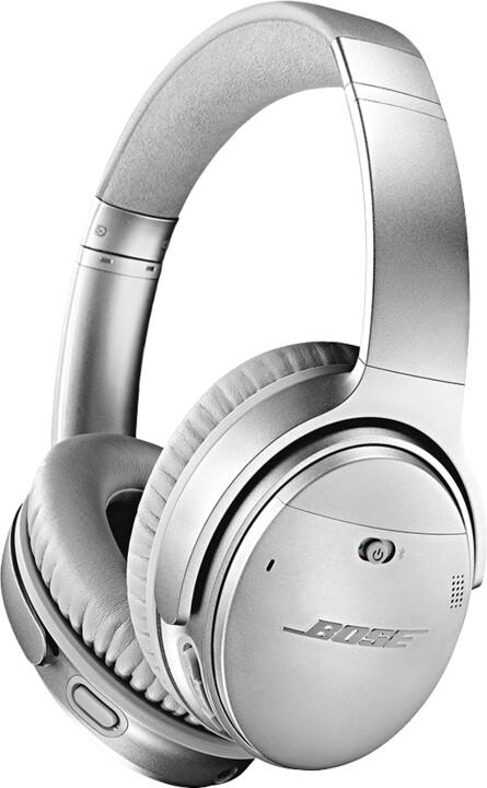 Bose QuietComfort 35 II, stříbrná