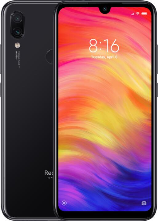 Xiaomi Redmi Note 7, 4GB/128GB, černá