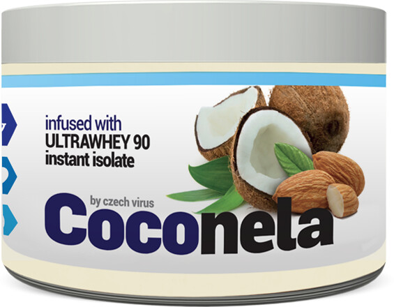 Coconela - Kokos, mandle, protein a bílá čokoláda, 500g