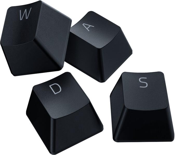 Razer vyměnitelné klávesy PBT Keycap Upgrade Set, 120 kláves, černé