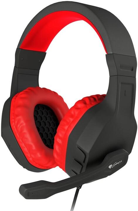 Genesis Argon 200, černá/červená