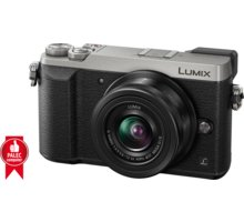 Panasonic Lumix DMC-GX80, stříbrná + 12-32 mm DMC-GX80KEGS