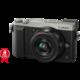 Panasonic Lumix DMC-GX80, stříbrná + 12-32 mm