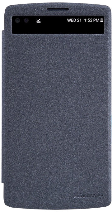 Nillkin Sparkle S-View pouzdro Black pro LG V10