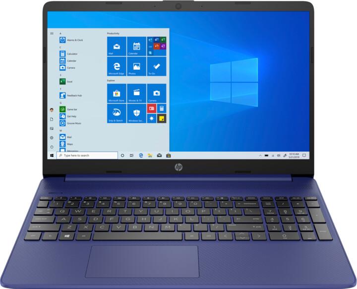 HP 15s-fq2007nc, modrá