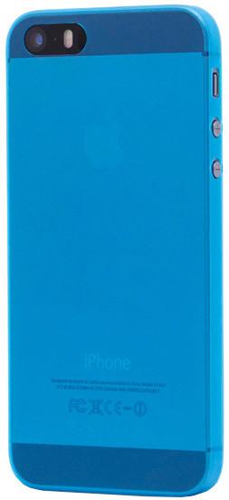 EPICO Plastový kryt pro iPhone 5/5S/SE TWIGGY MATT - modrý