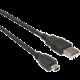 PremiumCord USB, A-B mini, 5pinů - 0,5m