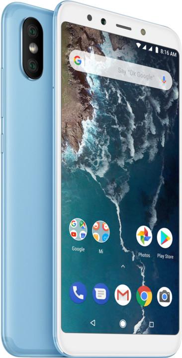 Xiaomi Mi A2, 6GB/128GB, modrá
