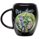 Hrnek Rick and Morty - Portal, černý