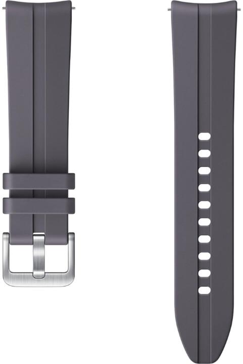 Samsung sportovní řemínek Ridge pro Samsung Galaxy Watch 3, 20mm, šedá