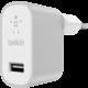 Belkin USB 230V nabíječka MIXIT Metallic 1x2.4A, stříbrná