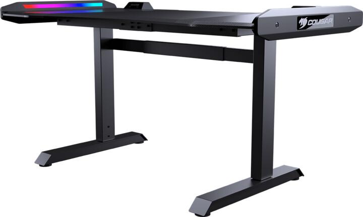 Cougar Mars, RGB LED, černý