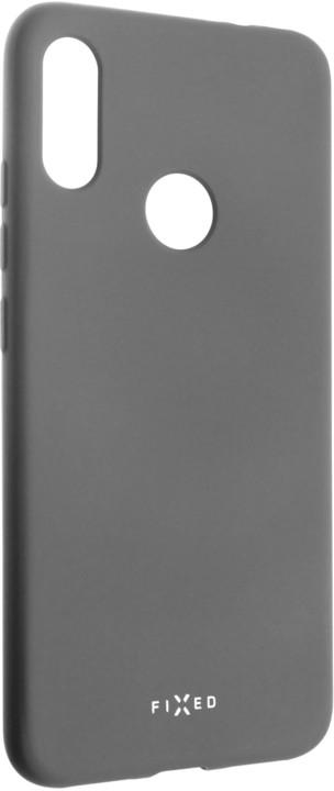 FIXED zadní pogumovaný kryt Story pro Xiaomi Redmi Note 7, šedá