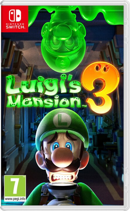 Luigis Mansion 3 (SWITCH)