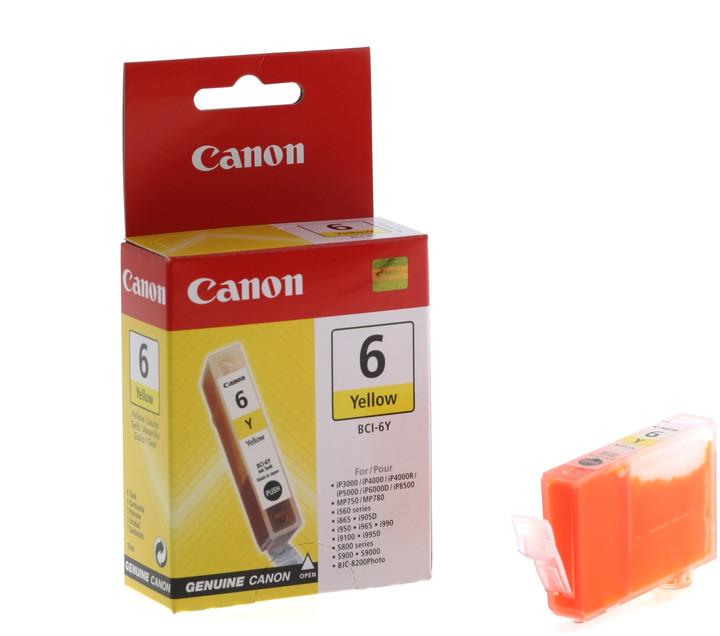 Canon BCI-6Y, žlutá