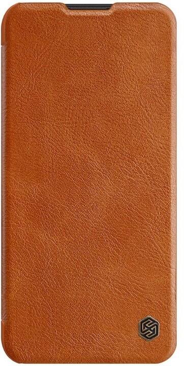 Nillkin pouzdro Qin Book pro Samsung Galaxy A11, hnědá