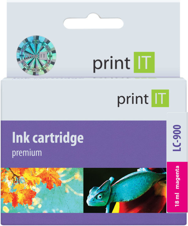 PRINT IT alternativní Brother LC-900, magenta