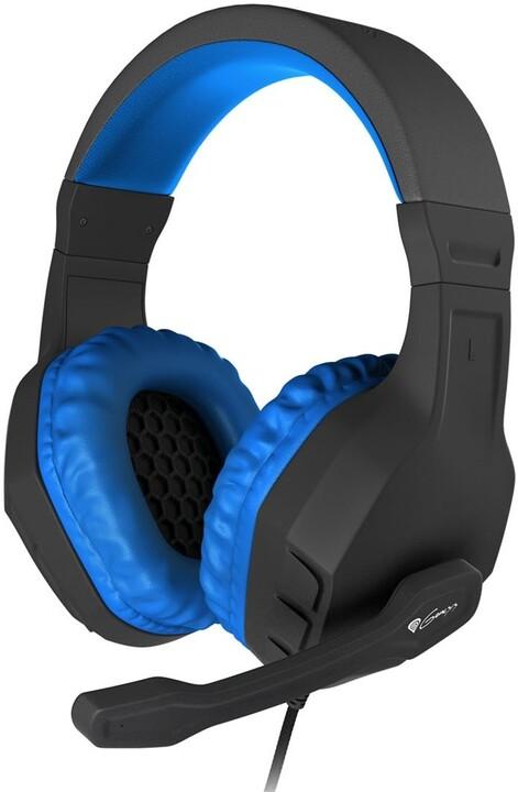 Genesis Argon 200, černá/modrá