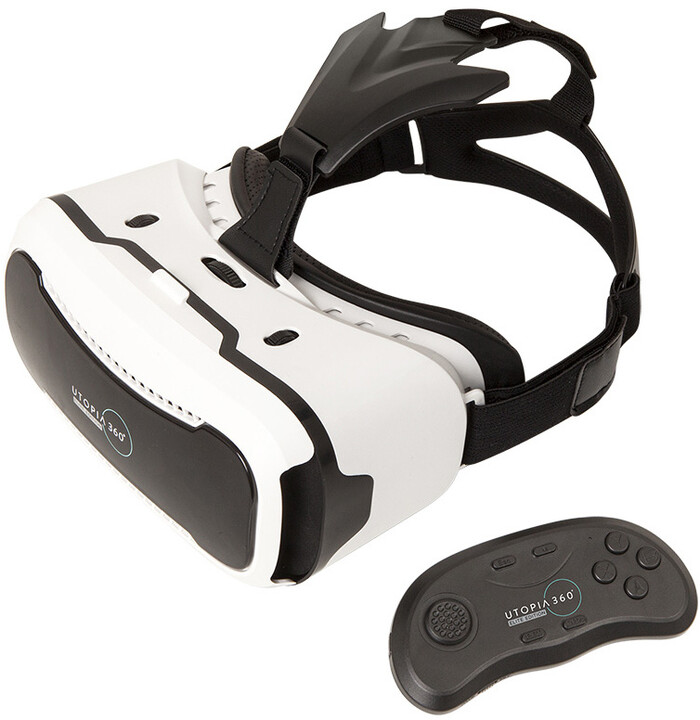 b03cca620 Retrak VR Headset Utopia 360 s BT ovladačem - Elite Edition ETVRPRO ...