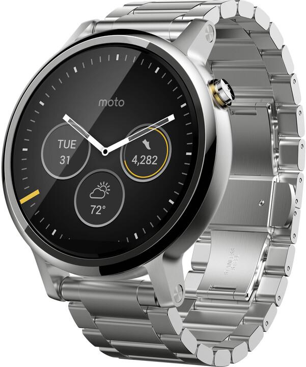 Motorola Moto 360 (2nd gen) silver/metal