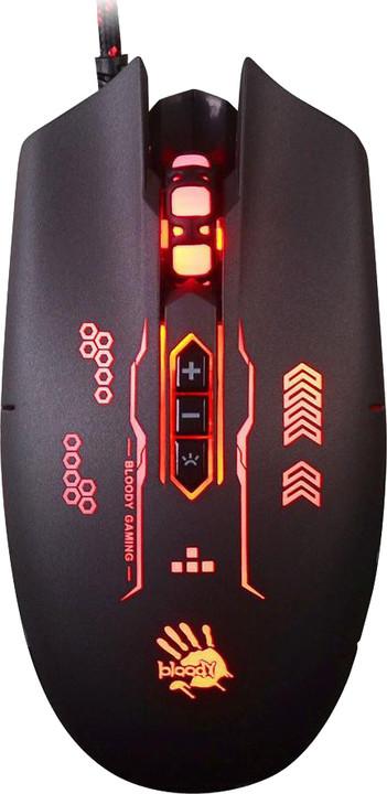 A4tech Bloody Q80B Gunfire, černá