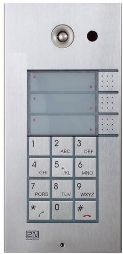 2N IP Vario, 3 tlačítka, klávesnice