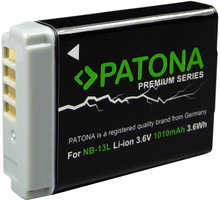 Patona baterie pro foto Canon NB-13L 1010mAh Li-Ion - PT1253