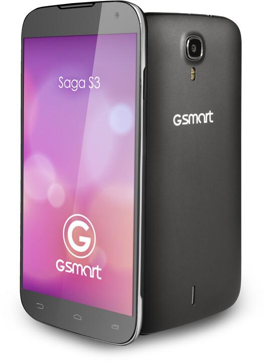 GIGABYTE GSmart Saga S3, černá