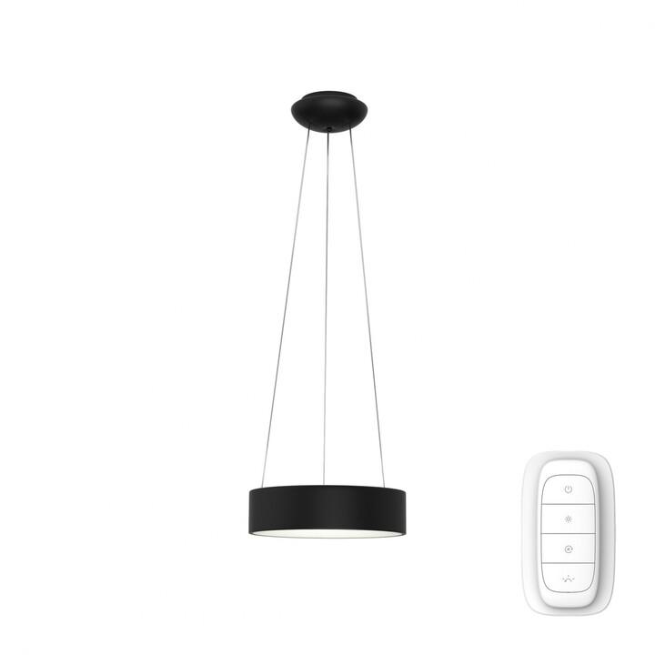 IMMAX NEO AGUJERO Smart závěsné svítidlo 45cm 30W, černá