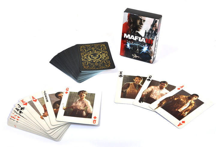 Mafia III - hrací karty