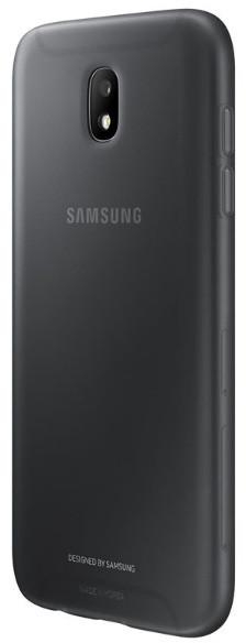 Samsung Galaxy J5 silikonový zadní kryt, Jelly Cover, černý