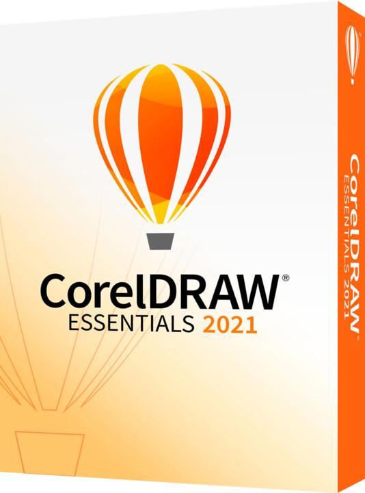 CorelDRAW Essentials 2021 Box