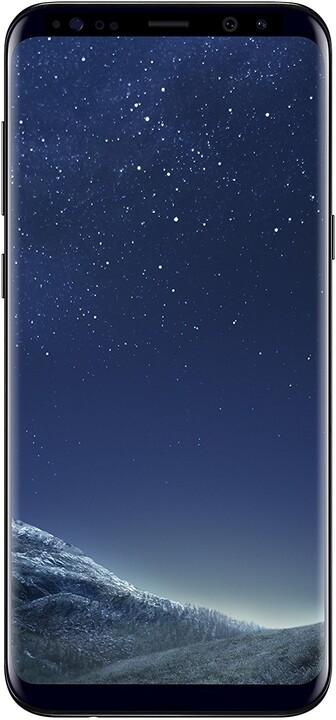 Samsung Galaxy S8+, 4GB/64GB, dual SIM, černá