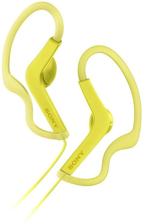 Sony MDR-AS210AP, žlutá