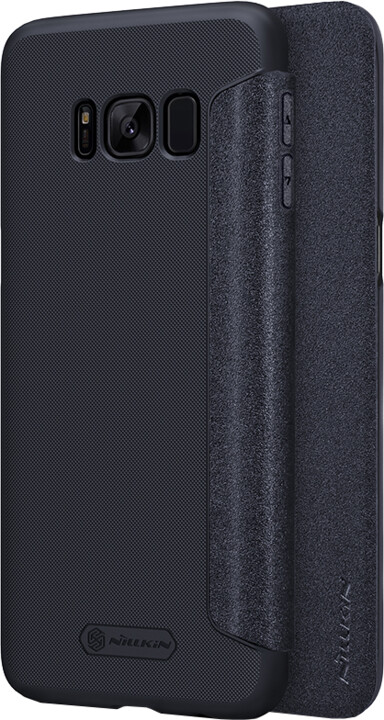 Nillkin Sparkle Folio pouzdro pro Samsung G955 Galaxy S8 Plus, Black