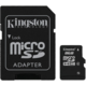 Kingston Micro SDHC 8GB Class 4 + SD adaptér