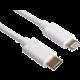 PremiumCord kabel Lightning - USB-C, nabíjecí a datový kabel MFi pro Apple iPhone/iPad, 1m