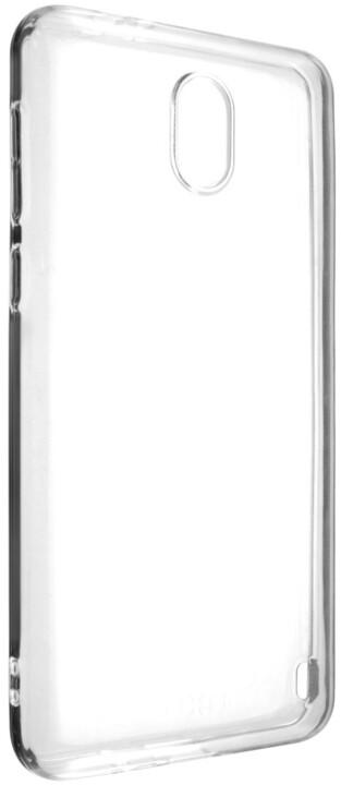 FIXED TPU gelové pouzdro pro Nokia 2, čiré