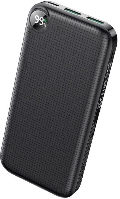 Mcdodo powerbanka Longan Series, 20000mAh, PD, 22.5W, černá