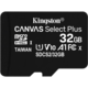 Kingston Micro SDHC Canvas Select Plus 32GB 100MB/s UHS-I