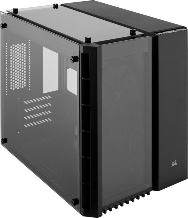 Corsair Crystal Series 280X, TG, černá