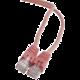 Gembird Cablexpert Patch kabel UTP c5e - 0.5m - růžová