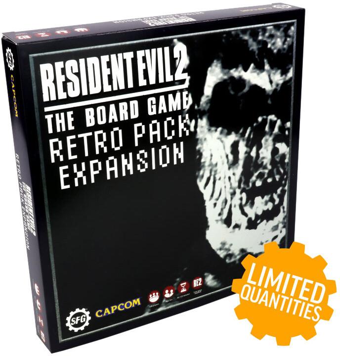Desková hra Resident Evil 2 - Retro Pack (rozšíření) (EN)