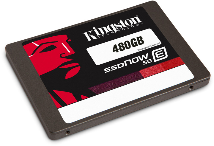 Kingston SSDNow E50 - 480GB